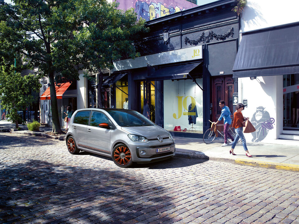 vw volkswagen up gri profil