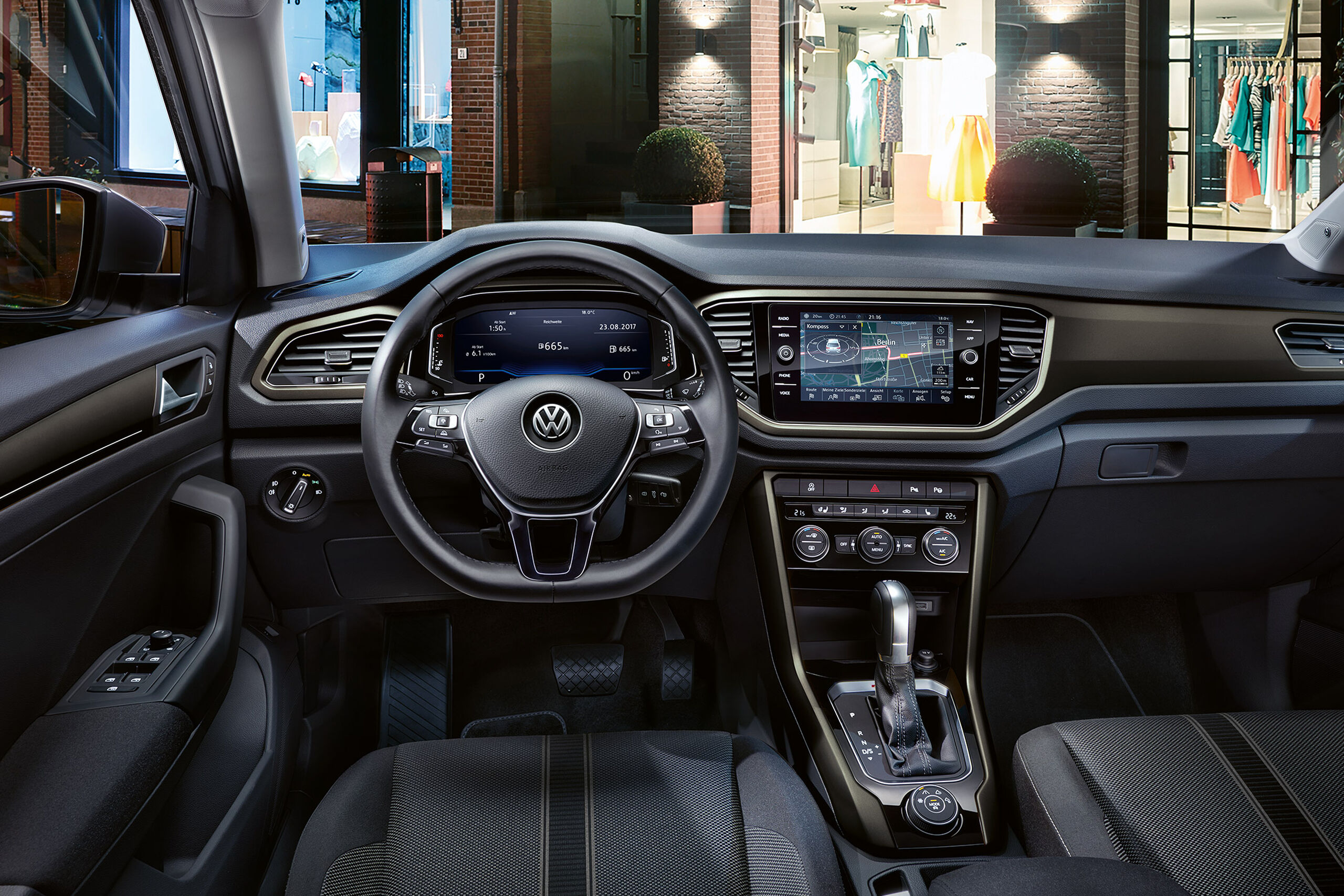 vw volkswagen t-roc maro design interior