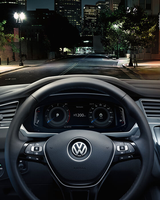 vw volkswagen tiguan volan multifuncțional active info display